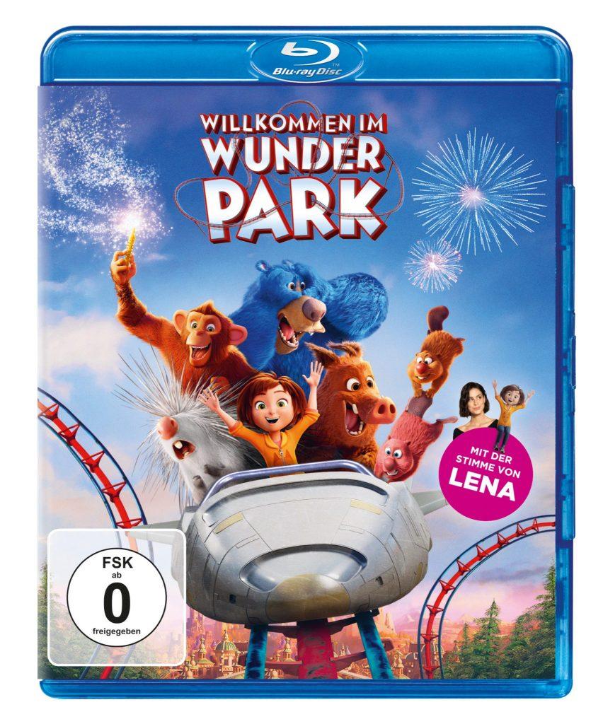 Das Blu-Ray-Cover zu Willkommen im Wunder Park
