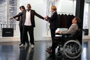 François Cluzet und Omar Sy in Ziemlich beste Freunde von ©Senator Filmverleih